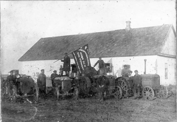 колхоз трактор6