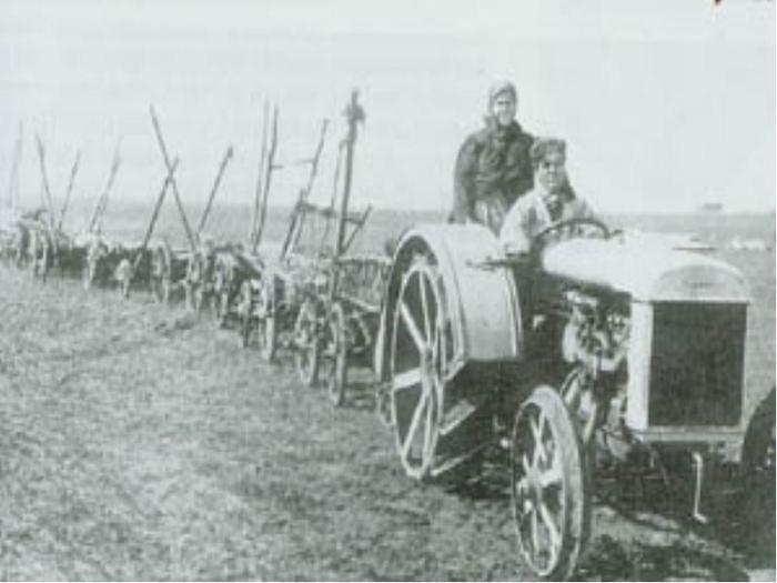 трактор колхоз