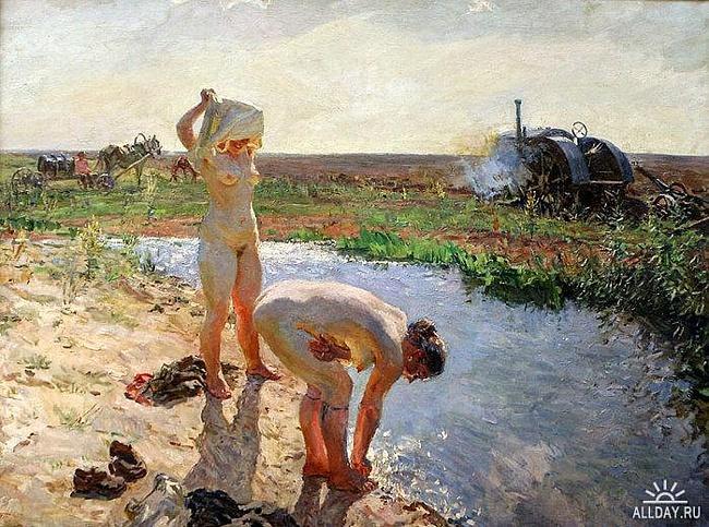 колхозницы