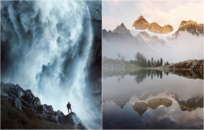 Победитель конкурса Hasselblad Masters Awards в категории «Пейзаж» художник-самоучка Бенджамин Эверетт любитель фотографировать интересные и дикие места.