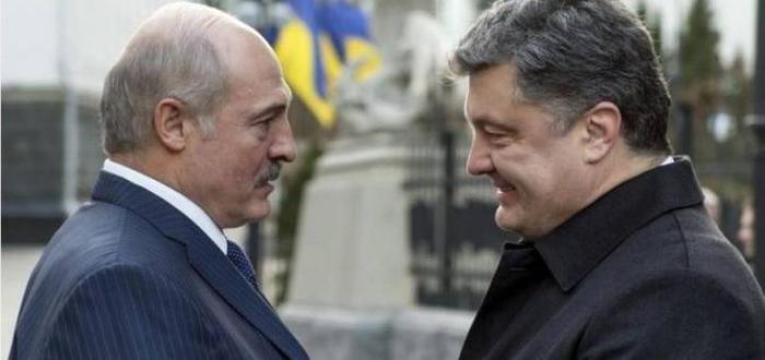 Лукашенко-Порошенко