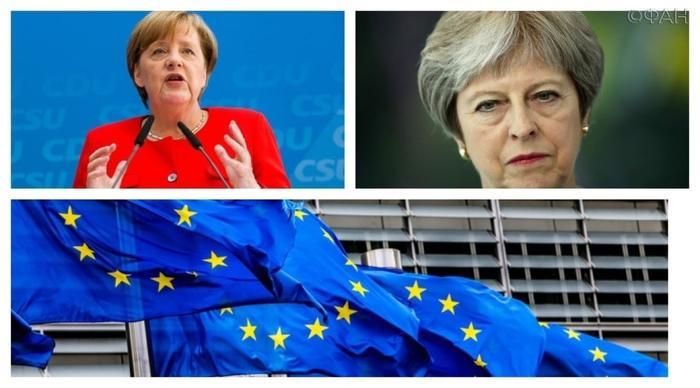 Я с тобой, дрянь такая, даже здороваться не хочу: Пучков объяснил, почему Меркель публично оскорбила Мэй