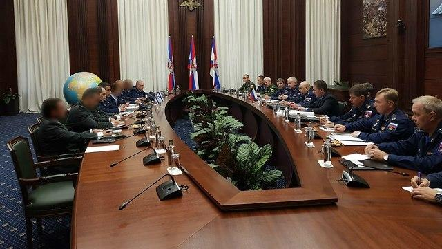 Встреча в Москве. Фото: пресс-служба ЦАХАЛа (Photo: IDF Spokesmans Unit)
