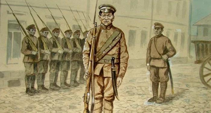 Китаец в РККА