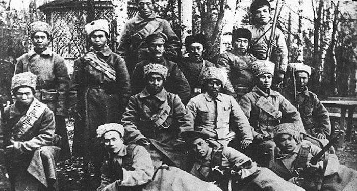 Китайские солдаты  в пехоте РККА