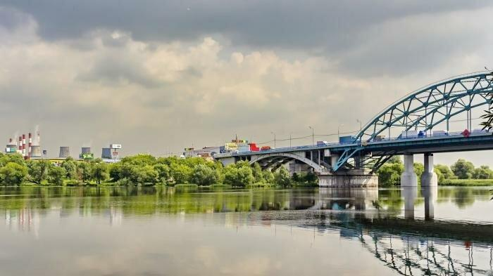 Бесединский мост на МКАД. Фото с сайта wikimapia.org