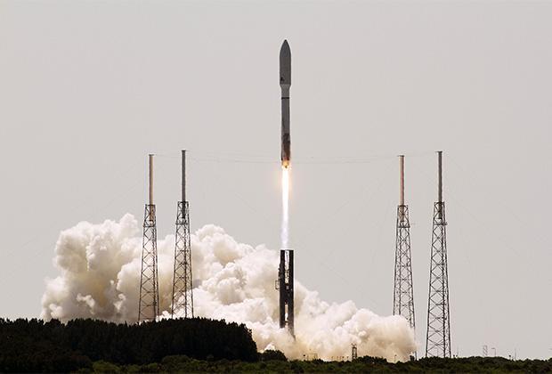 Запуск ракеты Atlas 5