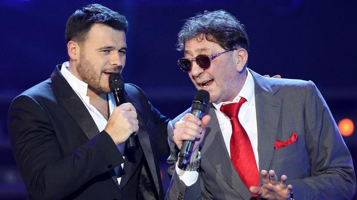 Певцы Эмин Агаларов и Григорий Лепс