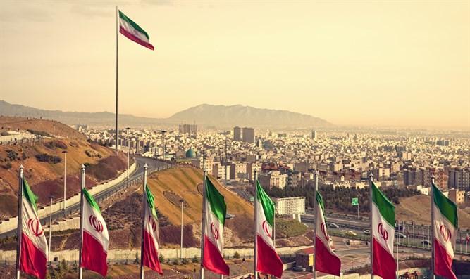 Тегеран. Иллюстрация