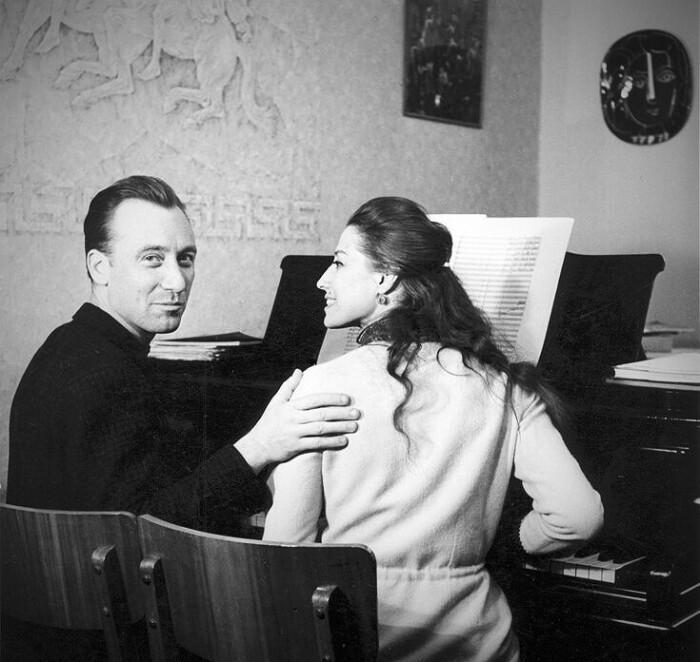 Майя Плисецкая и Родион Щедрин. / Фото: www.twimg.com