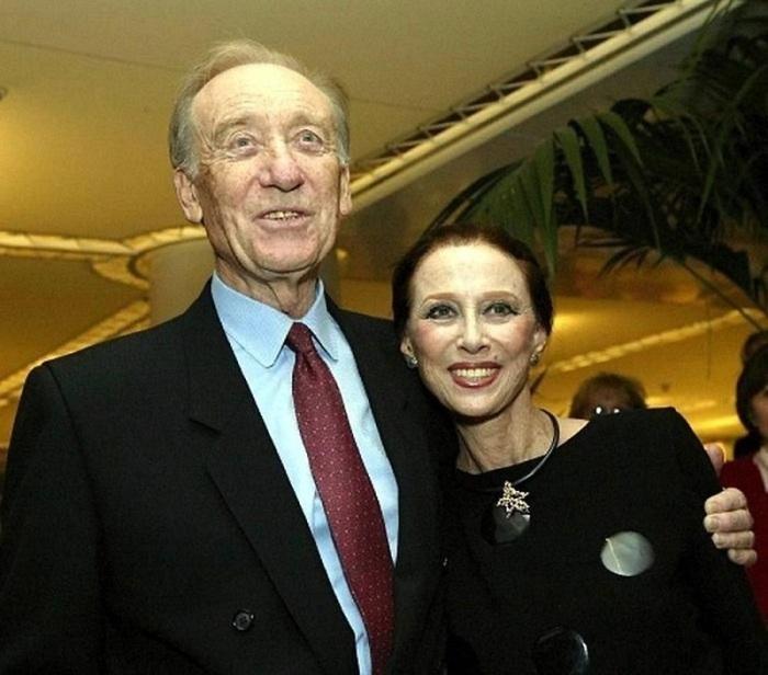 Майя Плисецкая и Родион Щедрин. / Фото: www.factsinter.com