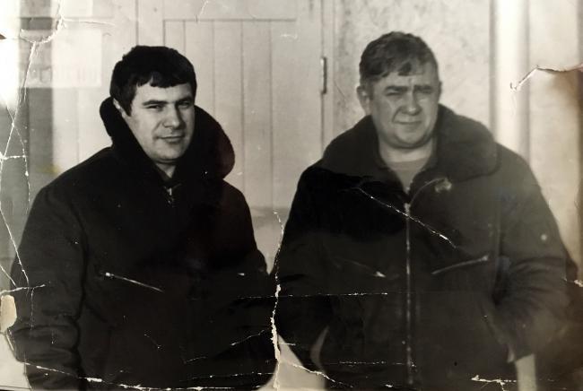 Пилоты Анатолий Керефов (слева) и Александр Горяной // Фото: из архива Александра Горяного