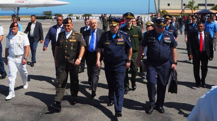 Российские военные в Венесуэле. Источник изображения: https://news-front.info/