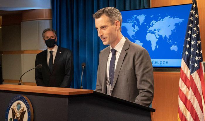 Нед Прайс, пресс-секретарь Госдепа. Источник изображения: https://www.osnmedia.ru/