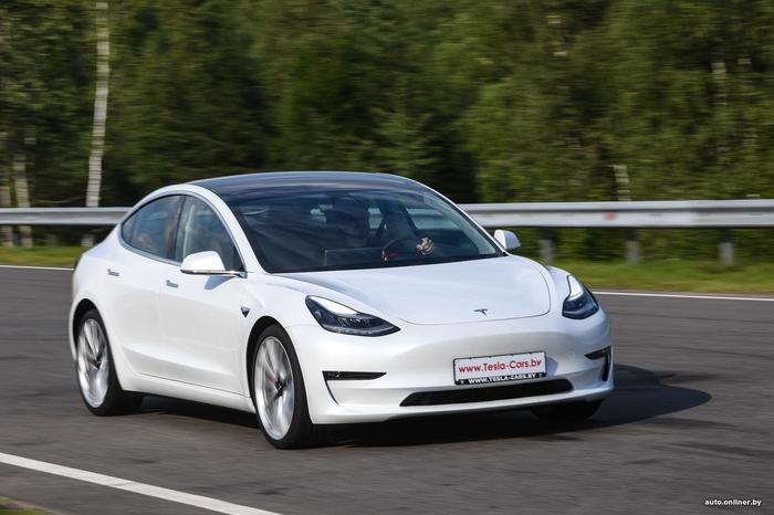 Тест-драйв Tesla Model 3 Performance: насколько быстра самая мощная «тройка»?