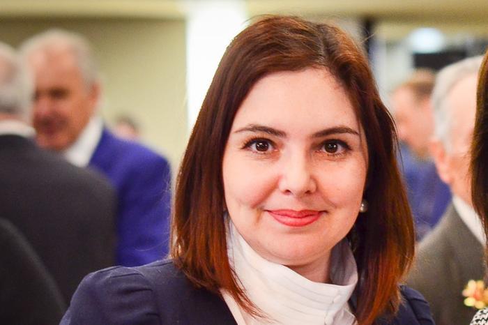 Ирина Алашкевич на послании губернатора,  2016 год