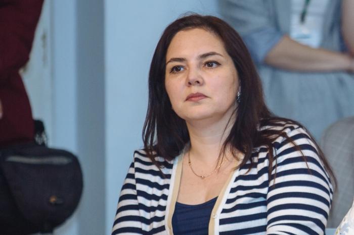 Ирина Алашкевич на выступлении губернатора в Клубе публичной политики