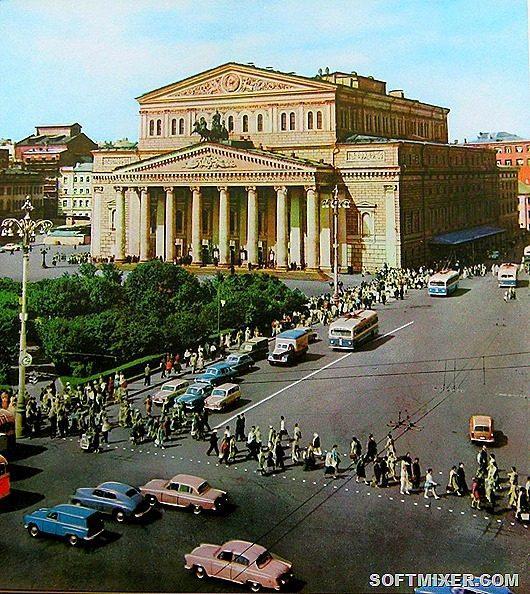 Москва на стыке 1950х  1960х  НОВОСТИ В ФОТОГРАФИЯХ