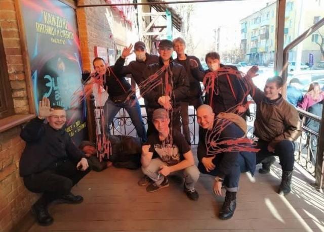 В Красноярске задержали группу скинхедов, нападавших на людей