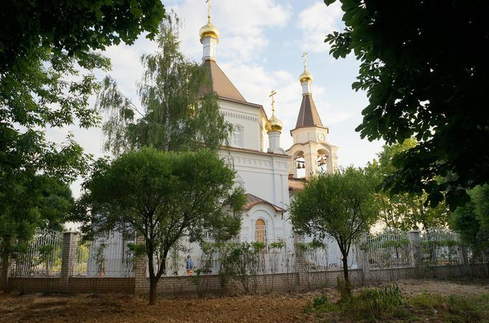 Храм в совхозе