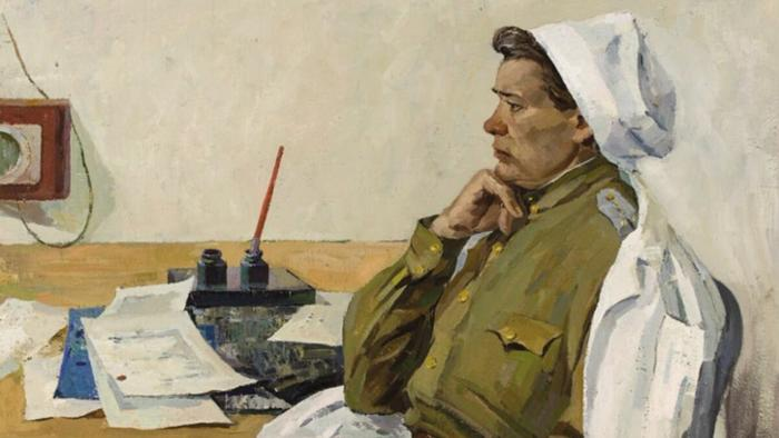 "Левичев Юрий Иванович, ""Военврач"" 1964 год. Источник: https://rossaprimavera.ru/"