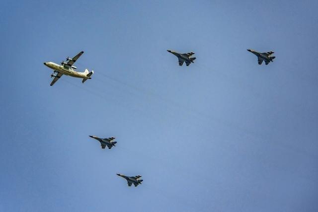Истребители J-11B ВВС Китая