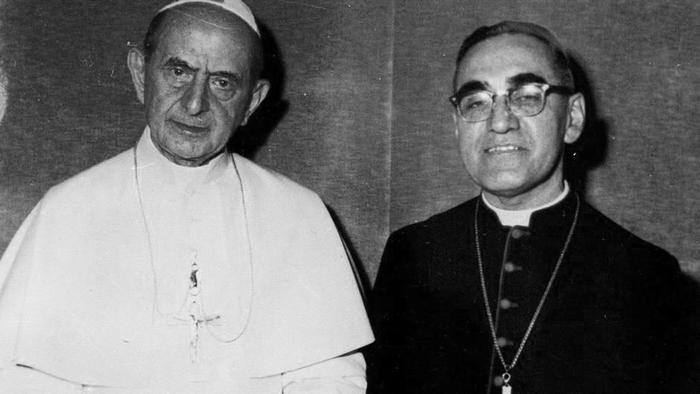 Папа Павел VI и Оскар Ромеро (1978). Фото: © Wikipedia.org