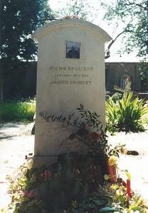 Бродский могила