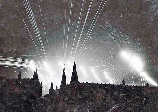 Ночной бой в небе Москвы в 1941 году