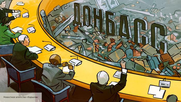 Во Франции сочли план Киева по Донбассу «психическим бредом»