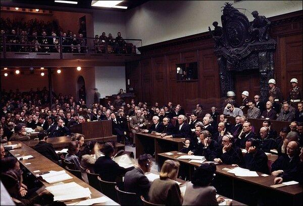 Нюрнбергский судебный процесс. Источник: pikabu.ru