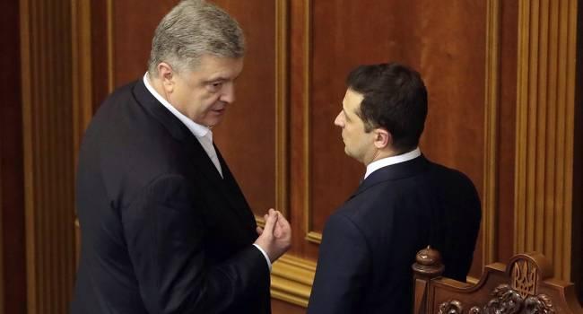 Небоженко: Если Порошенко сумеет найти общий язык с Медведчуком и Аваковым, то у Зеленского будут минимальные шансы досидеть до конца своей каденции