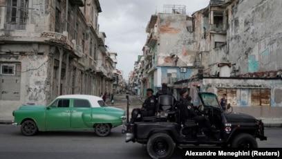 Гавана, июль 2021 года