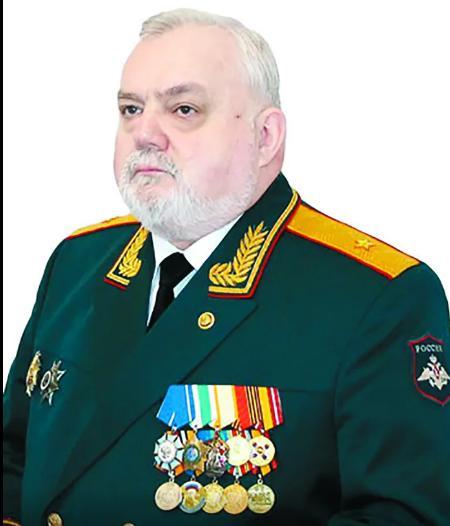 генерал-майор запаса А.В.Кириллин. Фото из открытого доступа