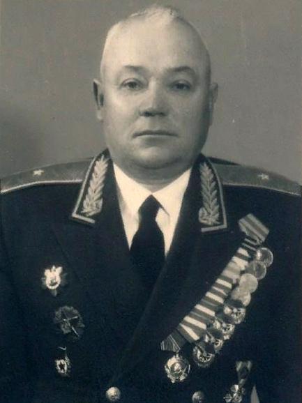 генерал-майор Д.А.Дрычкин (1902-1972). Фото из открытого доступа