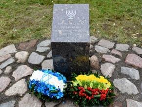 В Кретинге увековечена память синагоги и открыта выставка, посвященная истории евреев Литвы
