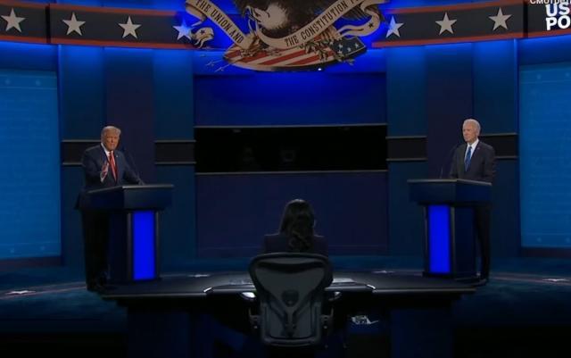 Дебаты Дональтра Трампа и Джона Байдена