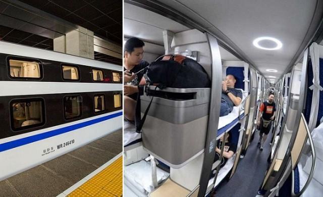 Китайцы сделали плацкартный вагон, который даст фору российским СВ