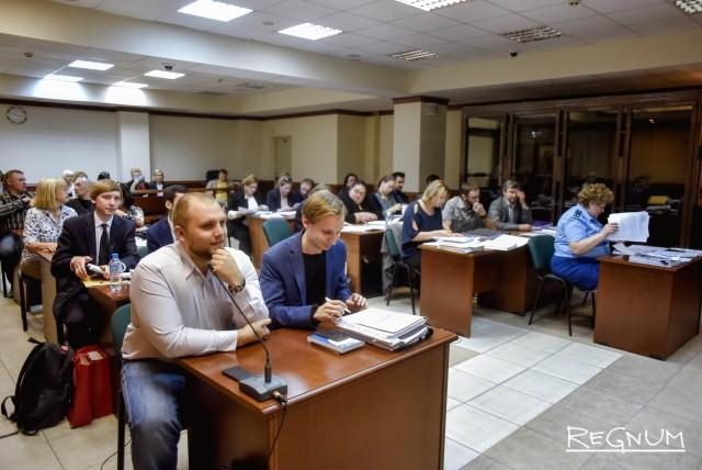 Жители кварталов района Кунцево на судебном заседании