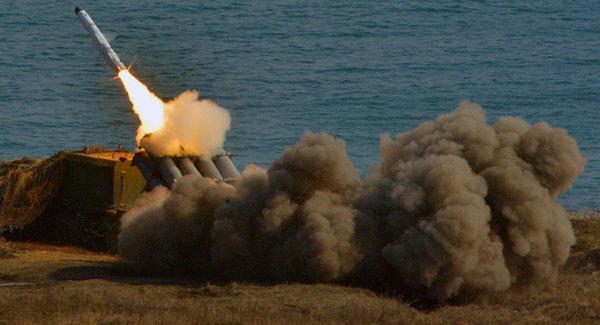 """Береговой ракетный комплекс """"Бал"""""""