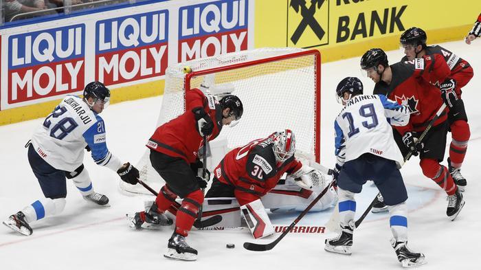 Финляндия обыграла Канаду в финале ЧМ по хоккею