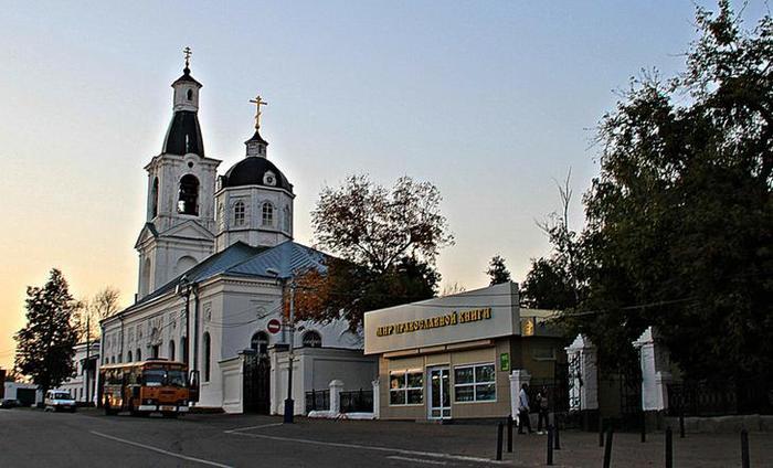 Церковь в честь иконы Пресвятой Богородицы «Живоносный источник»