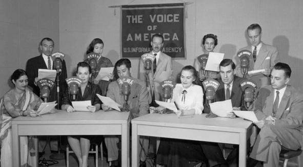 """Первый раз """"Голос Америки"""" обратился к слушателям 74 года назад. (фото из открытых источников)"""