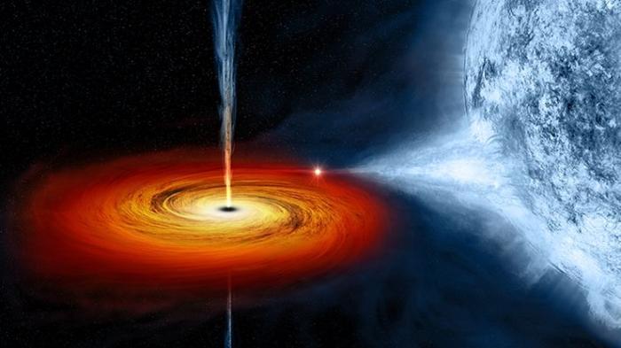 Черная дыра и гравитационные волны помогут космонавтам будущего путешествовать