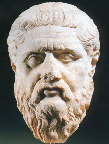 Древнегреческий софист и Горгий из Леонтин  (около 485 г. - 380 г. до н.э.)