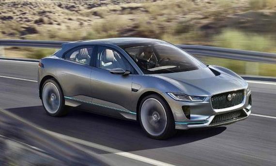 Концепт электрического кроссовера Jaguar I-Pace (Ягуар I-Pace)