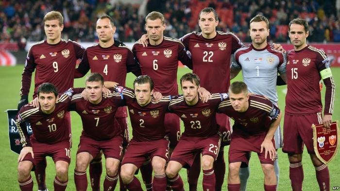 Сборная России по футболу (архивное фото)