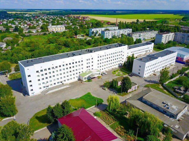 Глуховская Центральная больница.