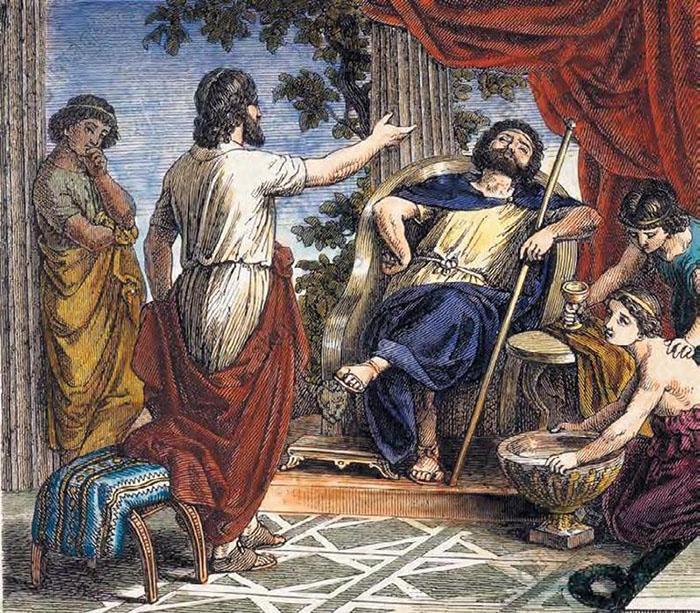 Царь должен был быть счастлив, но он жил в постоянном беспокойстве и страхе, доверяя лишь своим дочерям.
