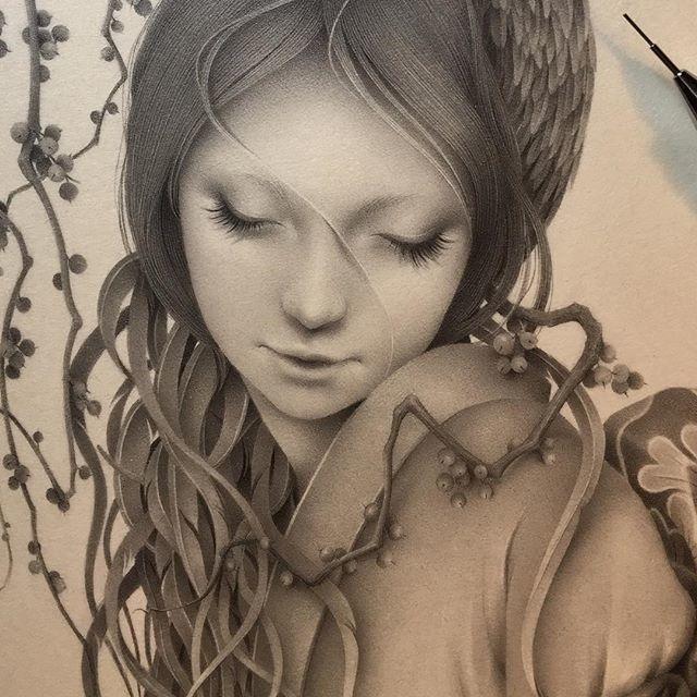 Японская художница Озабу! Рисунки, которые впечатляют!, фото № 1